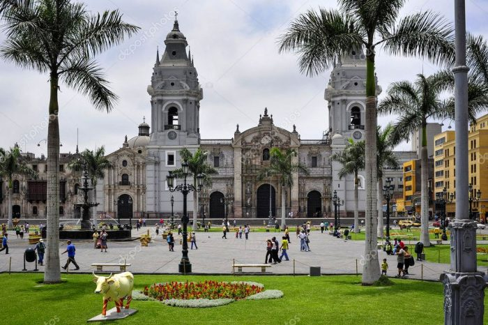 LIMA OF VICEROYS AND CUSCO OF THE INKAS